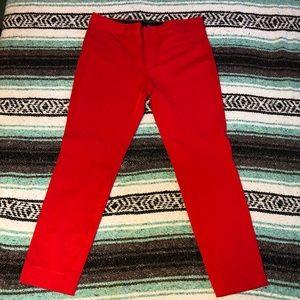 Banana republic Red dress pants. Slaon Fit